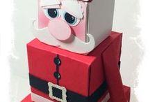 SU Gift Box Punch Board