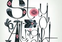 Typography / by Plush Boutique