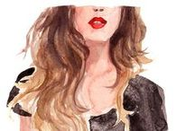 Fashion Illustrations / by Plush Boutique