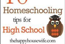 High School / High School Homeschooling - Educación en el hogar escuela superior.