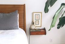 Happy Home / Bright white spaces with pops of color seems to be our jam