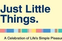 Just Little Things / by L'il Sunflower Girl