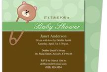 Baby Shower Invitation Templates / A sweet collection of DIY printable baby shower invitations in the form of templates that you can easily create yourself.