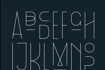 |  T y p o g r a p h y  | / Typeface and fonts for inspiration / by L i n d a