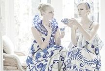♥ Blue and White ♥
