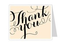 Thank You Card Templates / Ready made thank you card templates that can easily be edited with software you already own using Microsoft Word, Publisher, Apple Pages.