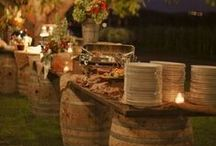 Buffet Tables~ / by The Stuart Rental Company