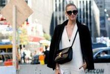 Fashion week NY : le style des New-Yorkaises / La fashion week printemps-été 2014 est (enfin) arrivée ! Comme toujours, en marge des défilés, les New-yorkaises rivalisent de style. Voilà le meilleur de leurs looks.