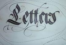 |  C a l l i g r a p h y  | / Inspirations for Calligraphy and beautiful handwriting. / by | L i n d a B r u n |