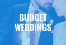 Wedding Ideas on a Budget / A handy guide on how to save money when planning your wedding: cheap wedding destinations, wedding freebies, inexpensive wedding ideas, cheap wedding dress, and more.