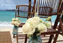 Beach~Wedding Ideas / by The Stuart Rental Company