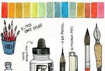 |  W  A  T  E  R  C  O  L  O  R  | / S e c r e t s   o f   watercolor / by | L i n d a B r u n |