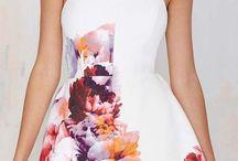 Dresses / Patterns and design