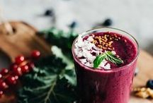 Beautiful smoothies / Delicious and beautiful smoothies.