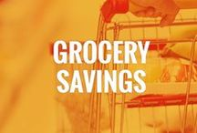 Groceries on a Budget / Here you will learn how to save money on groceries and cut food costs! Some of our top picks are: how to save money on groceries without coupons, cheapest grocery stores, best grocery list apps, grocery shopping tips, and more.