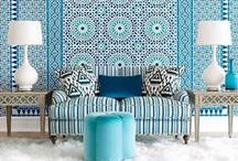 Design Trends / Here's a great place to find practical interior design ideas. Great colors and wonderful furniture. Inspiration for every room!
