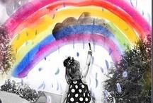 La vie en couleurs / by Géraldine Sénécal