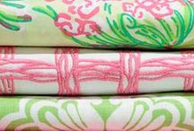 Lilly Pulitzer for Lee Jofa / Lee Jofa launched Lilly Pulitzer for Lee Jofa, a licensed collection of home interior fabrics and trimmings featuring the immediately recognizable prints and patterns that Lilly Lovers have adored for decades. / by Kravet