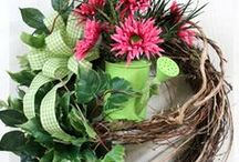 Wreaths and Door Hangings 1 / by Joyce Hicks