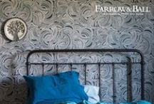 Farrow and Ball / Craftsmen in paint and paper, Farrow & Ball creates unmatched paints and artisan wallpapers in Dorset, England. Created according to age-old methods using Farrow & Ball's own paints, each wallpaper design has a unique appearance and texture. The exquisite collection of handcrafted wallpapers include stripes, florals, geometrics and damasks. Available at select Lee Jofa showrooms.  / by Kravet