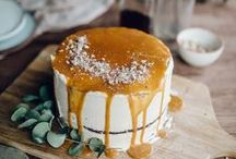WEDDING CAKE / FOOD / #wedding #cake #food #tables #appetizers #supper #maincourse #meals