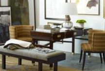 Alexa Hampton for CuratedKravet.com / Renowned interior designer Alexa Hampton designed three fully shop-able spaces using furniture and accessories from CuratedKravet.com. / by Kravet
