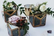 WEDDING TABLES / #wedding #centerpieces #tables #decor #flowers #cutlery #plates #tablenumbers