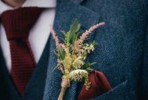 WEDDING MEN'S ATTIRE / #wedding #men #groomsmen #groom #suits #tux #tuxedo #tie