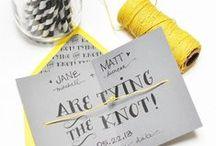WEDDING INVITES / #invites #wedding #programs #design #print #fonts #art