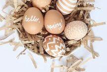 EASTER / ST PATRICKS DAY / #easter #stpatricksday #stpaddysday #clovers #eggs #bunnies #holiday #celebrate #diy #crafts
