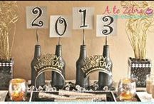 New Years Eve / A collection for all things for your New Years Party!  / by A to Zebra Celebrations ~ Nancy ~