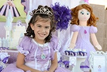 Sofia the First Party Ideas / A collection of all Sofia the First party ideas! Cakes, party favors, party decorations, girls games, invitations and more! / by A to Zebra Celebrations ~ Nancy ~