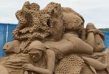 Sand Castle Art / Incredible photos of sand castles and sculptures.
