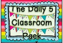 Teaching: Daily 5 / by Lane Robbins