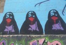 World Art / Art around the world: installations, graffiti and everything in between.