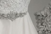 Bridal Belts by Amixi / Add the perfect touch of sparkle to your dress with one of our exquisite bridal belts.