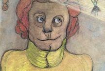 """Proyecto Teresa de la Parra / Ilustraciones de Aldo Franz Constantin para el libro  """"La señorita Grano de Polvo bailarina del sol""""  https://issuu.com/kimuragaman/docs/granodelpolvo"""