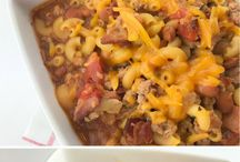 Main dishes / Main dish recipes for families