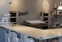 100% Post-Consumer Recycled Glass countertops