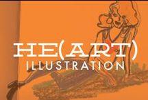 He(art) \\ Illustration / Illustration and Character Design I enjoy