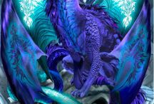 Fantasy & Release the Kraken! / That place we ALL go  & dread sometimes.  I am a Dragon Rider (Sshhhhhhh). / by Karen Gianni