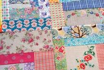 "Quilty love / Just a smattering of different style ""quilts"" I adore"