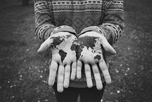 """{Wanderlust.} / wan·der·lust/ˈwändərˌləst/  Noun: A strong desire to travel: """"a man consumed by wanderlust""""."""