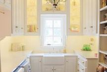 INTERIORS | BUTLER'S PANTRY / LAUNDRY. PANTRY. CRAFT. WRAPPING. ROOM.