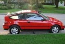 Carz / The cars in my life: 1 1989 red CRX Si, and 2 Volkswagens  / by Lee Anne Dollison