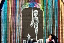 Street Art / Banksy, grafittis, urban art...