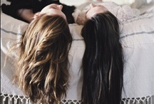 Hair / Wondrous locks of males and females