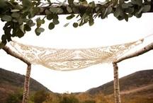 {Bohemian Romance Wedding.}