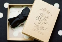 {Black & White Wedding.}