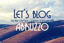 Let's Blog Abruzzo / Abruzzo's 1st Food, Wine & Travel Bloggers Weekend 1st – 2nd June 2013 1250 m above sea level @ Medici hill top town Santo Stefano di Sessanio, L'Aquila All profits donated to: The Busonair travel app developed by L'Aquila University & the pastoral society Tracturo Magno